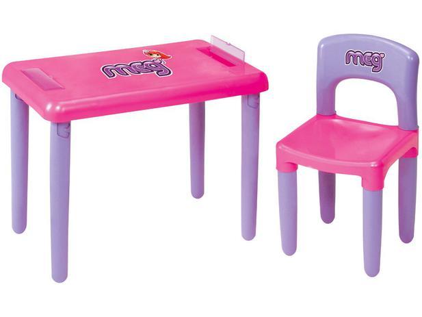 Mesa Infantil Meg - Magic Toys com 1 Cadeira