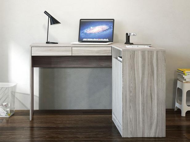 Mesa para Computador/Escrivaninha Portugal - 2 Portas 2 Gavetas - Politorno 16011230.0004