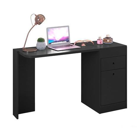 Imagem de Mesa para Computador Multifuncional com 2 Portas e 1 Gaveta Desejo  Móveis Albatroz