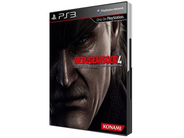 Metal Gear Solid 4: Guns of the Patriots para PS3 - Konami