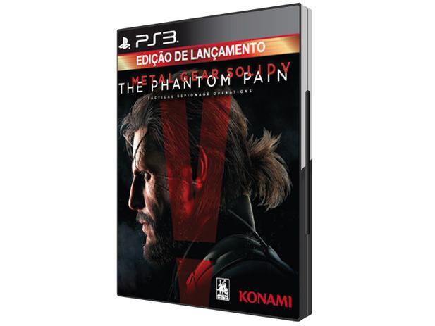 Metal Gear Solid V: The Phantom Pain para PS3 - Konami