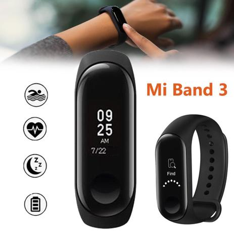 cf7dfd77acf Mi Band 3 Relógio Inteligente Smartwatch - Yes shop - Acessórios ...