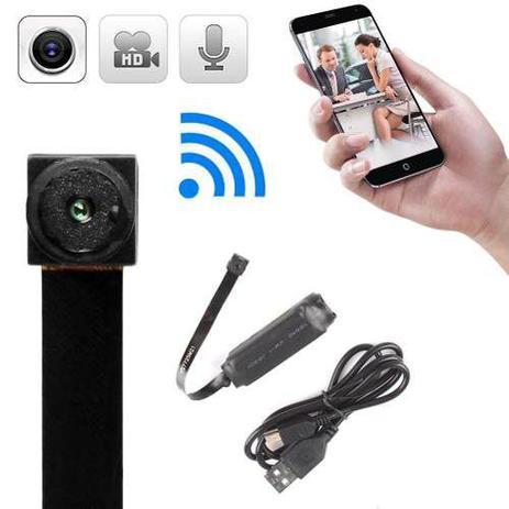 feacb332e Micro Câmera Espiã IP Wifi Espionagem com MicroSD 16gb - Linksys ...