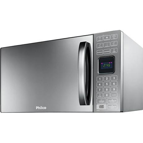 Imagem de Micro-ondas 25L Espelhado Philco PME25 110V Prata