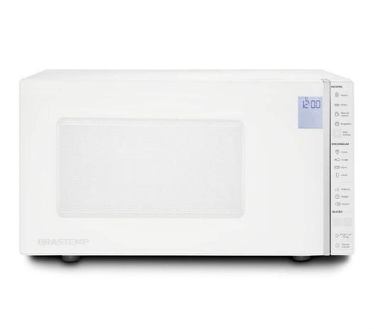 Imagem de Micro-ondas Brastemp 32 Litros Branco com Painel Integrado