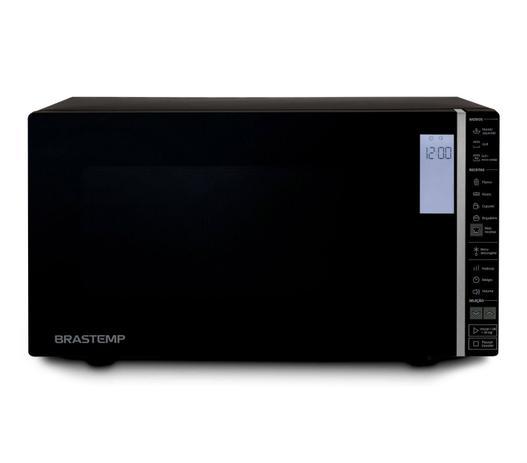 Imagem de Micro-ondas Brastemp 32 Litros Preto com Grill e Painel Integrado