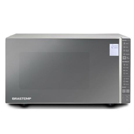 Imagem de Micro-ondas Brastemp Inox 32 Litros BMS45CRBNA  220 Volts