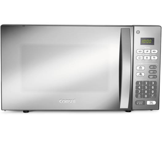 3c99b2a06 Micro-ondas Consul 20 Litros cor Inox Espelhado com Função Descongelar
