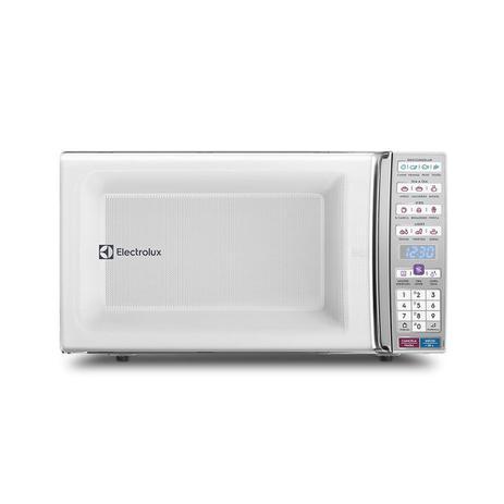 Imagem de Micro-ondas Electrolux 34 Litros Função Tira Odor e Manter Aquecido Branco MEO44  127 Volts