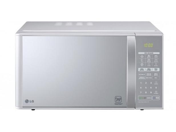 e61adcae8 Micro-ondas LG 30L com Grill MH7053RA Prata - Micro-ondas - Magazine ...