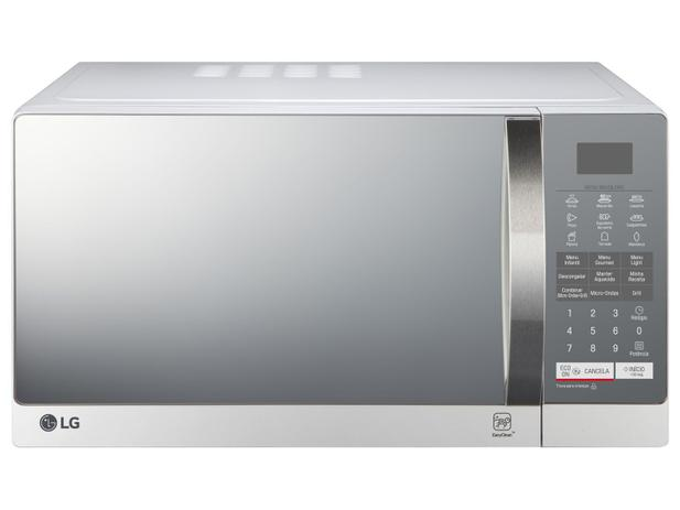 b48140f82 Micro-ondas LG 30L com Grill - MH7057Q - Micro-ondas - Magazine Luiza