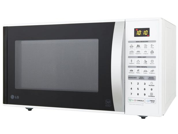 Micro-ondas LG 30L Easy Clean - MS3052RA - 220V