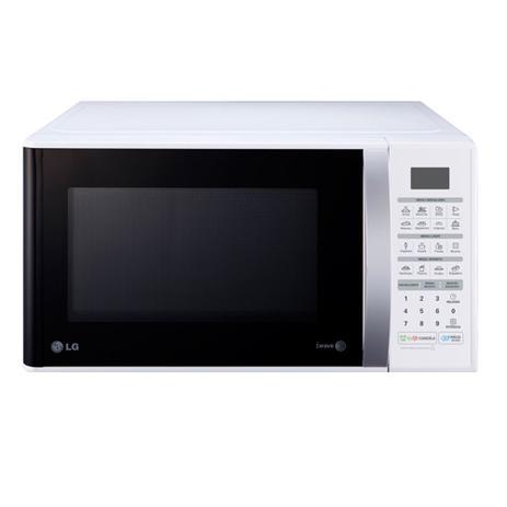 Menor preço em Micro-ondas LG Easy Clean Branco 30L 220v - MS3052RA
