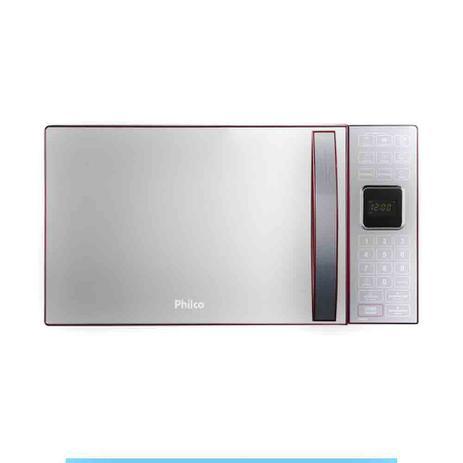 5b8a99d4a Micro-ondas Philco 25L PME25 Vermelho - Micro-ondas - Magazine Luiza
