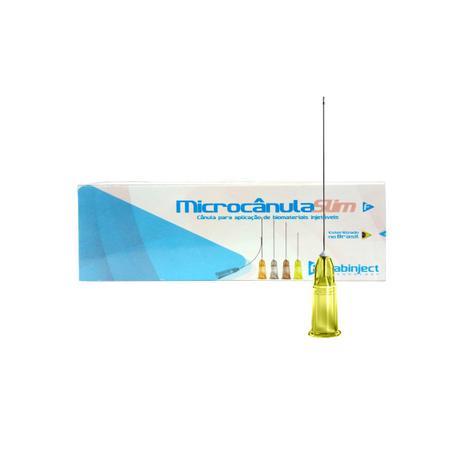Imagem de Microcânula Flexível Slim 20g -100mm (0,90mm x 100mm) caixa c/ 10 unidades - Fabinject