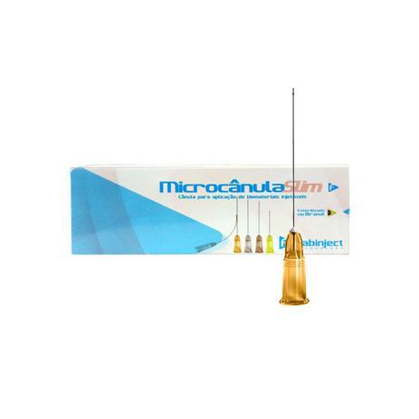 Imagem de Microcânula Flexível Slim 25g -50mm (0,50mm x 50mm) cx c/10 unidades - Fabinject