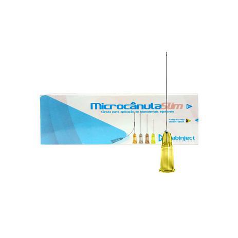 Imagem de Microcânula Flexível Slim 30g - 25mm (0,30mm x 25mm) caixa c/ 10 unidades - Fabinject