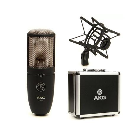 Imagem de Microfone Condensador P/ Estúdio Akg Perception P420