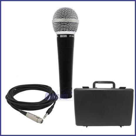 Imagem de Microfone dinâmico de mão unidirecional HT58A