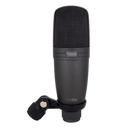 Imagem de Microfone profissional de estúdio USB Novik Neo FNK02U
