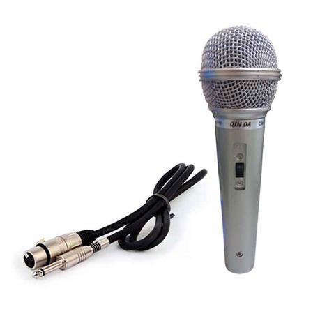 Imagem de Microfone Profissional Karaokê com Cabo Completo