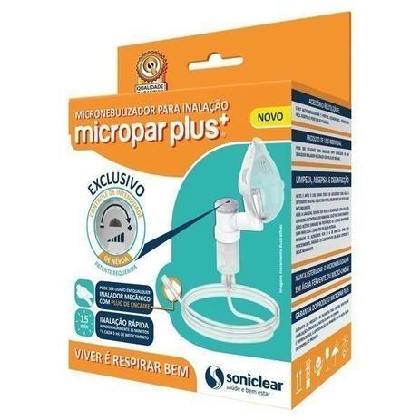 Imagem de Micronebulizador Soniclear Micropar infantil c/ Plug Encaixe