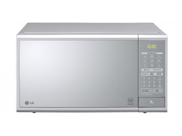 Imagem de Microondas LG Easy Clean 30 L Prata Espelhado 110V  MS3059L