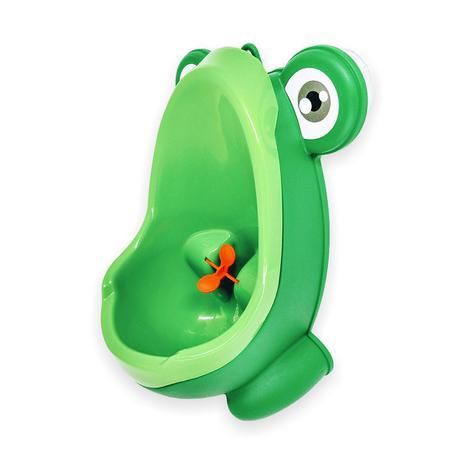 Imagem de Mictório Pinico Portátil Infantil Sapinho Verde Bebê