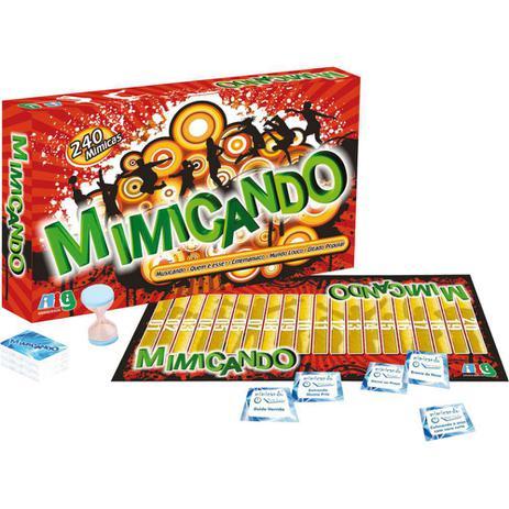 03764f166a Mimicando - Jogo de Mímica - NIG - Nig brinquedos - Jogos de ...