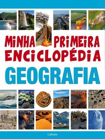 Imagem de Minha primeira enciclopedia geografia