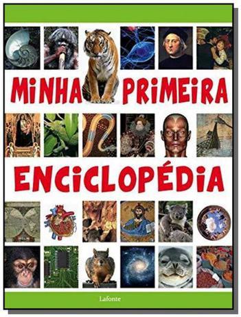 Imagem de Minha primeira enciclopedia - lafonte