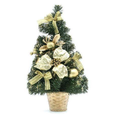 Imagem de Mini Árvore de Natal Decorada 50cm - Snowland