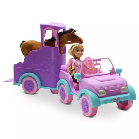 Imagem de Mini Boneca - Sparkle Girlz - Passeio Equestre - Dtc