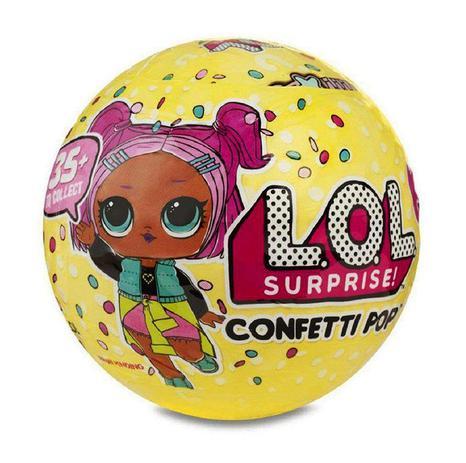 Imagem de Mini Boneca Surpresa - LOL - Confetti Pop - Série 3 - Candide