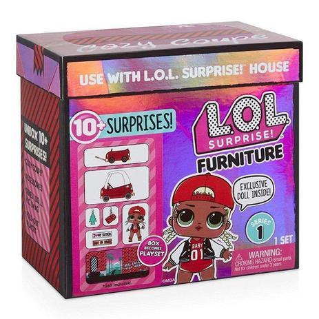 Imagem de Mini Boneca Surpresa - LOL - Furniture - M.C. Swag - 10 Surpresas - Candide