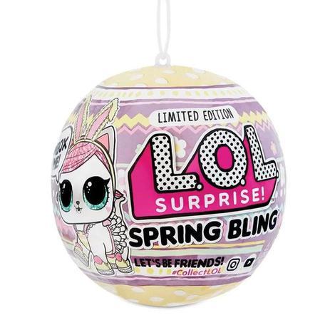 Imagem de Mini Boneca Surpresa - LOL Surprise - Spring Bling - 7 Surpresas - Candide