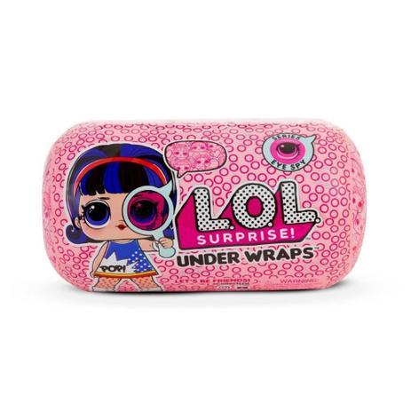 Imagem de Mini Boneca Surpresa - LOL Surprise - Under Wraps - 15 Surpresas - Candide