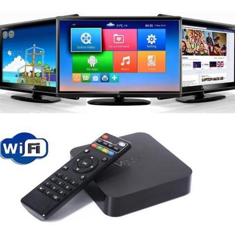 Imagem de Mini Box Smart Tv Ott Box Android Tv Quad Core Mxq Netflix Youtube