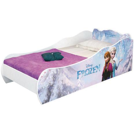 580ab3a54 Mini Cama Frozen Disney sem Torre Pura Magia - Pura Magia - Móveis ...