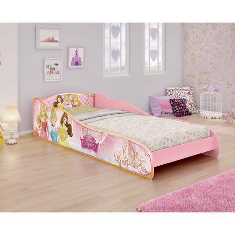 3e00e4e9d8 Mini Cama Infantil Princesas Disney Rosa - Pura Magia - Cama ...