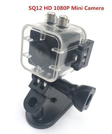 0b7672626 Mini Camera Espiã SQ12 1080p Full HD com Case Aquático e Memória 16gb -  Powerview