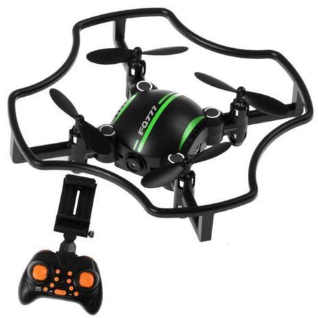 Imagem de Mini Drone Ml18w Fq777 Sistema FPV ao vivo Altitude Holder VERDE