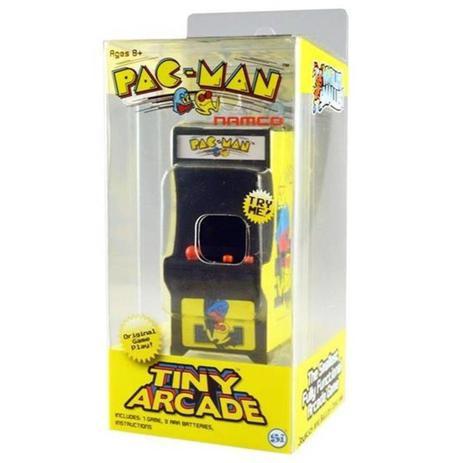 Imagem de Mini Fliperama Retrô - Tiny Arcade - Pac Man