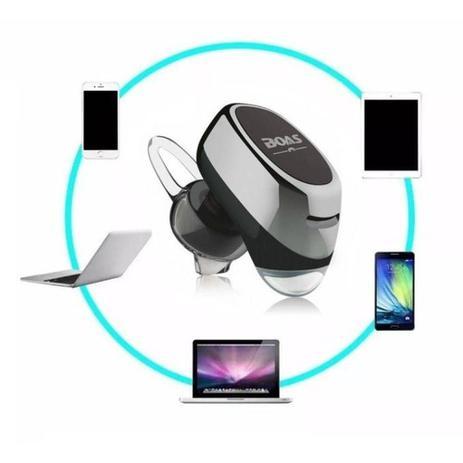 Imagem de Mini Fone de Ouvido Bluetooth Stereo Universal Boas LC-100