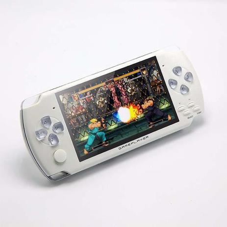 Imagem de Mini Game Nova Portátil 4000 Mil Jogos Player Mp3 Mp4 Mp5 Branco
