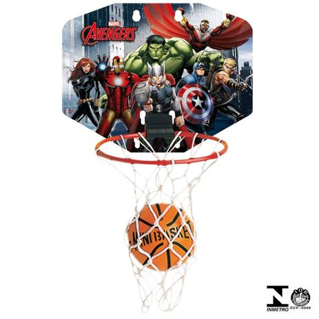 f4a499d1c Mini Kit Para Basketball Avengers 15087 Xalingo - Esportes ...