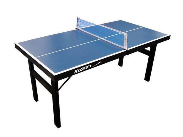 Mini Mesa de Ping Pong Dobrável Klopf - 61003 - Ping Pong - Magazine ... 720385e5e55a3