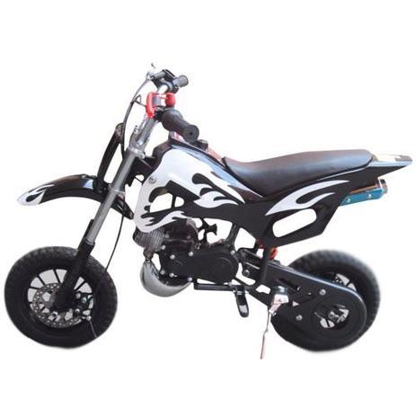 Mini Moto Cross 49cc Dirt Bike A Gasolina 2 Tempos Wvdb 006