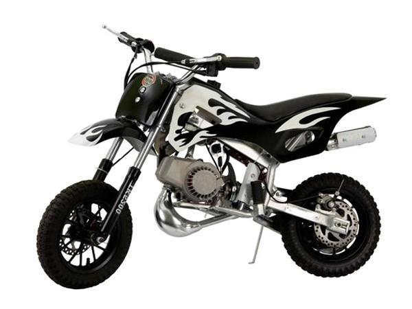 Mini Moto Cross 49cc Preta Mini Veiculos Mini Moto Motorizada