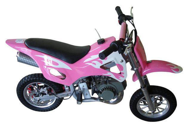 Mini Moto Cross à Gasolina E à òleo Barzi Motors Fire 49cc